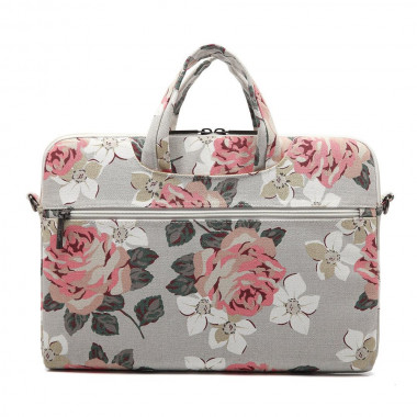 CANVASLIFE BRIEFCASE LAPTOP 13-14 WHITE ROSE
